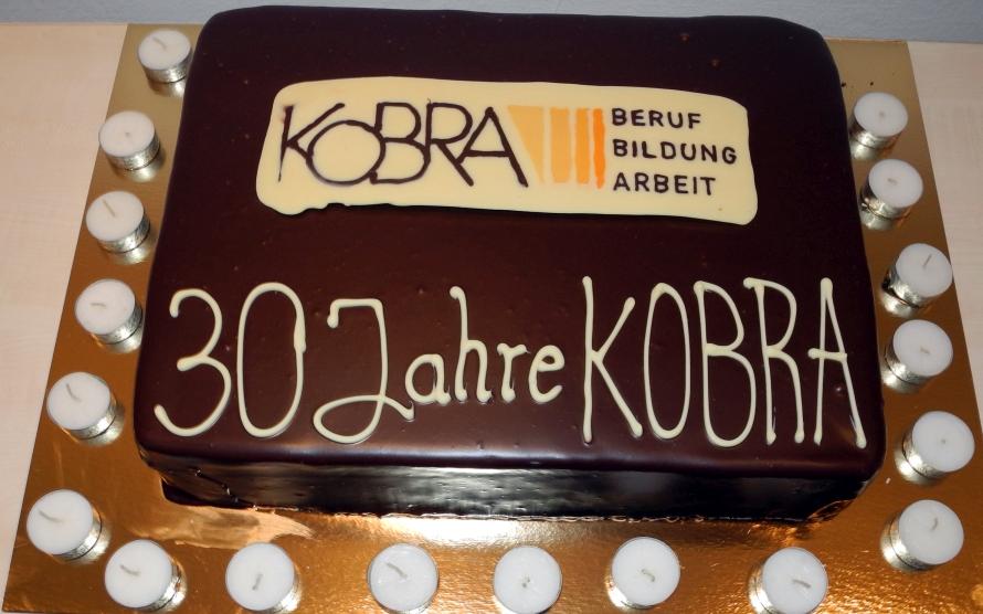 30 Jahre KOBRA - Geburtstagstorte